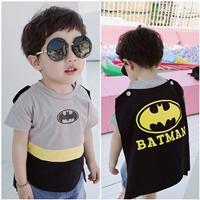 เสื้อยืดแฟชั่นหนูน้อย-Batman-ติดปีก