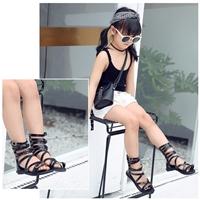 รองเท้าสาน-Smart-Gladiator-สีดำ