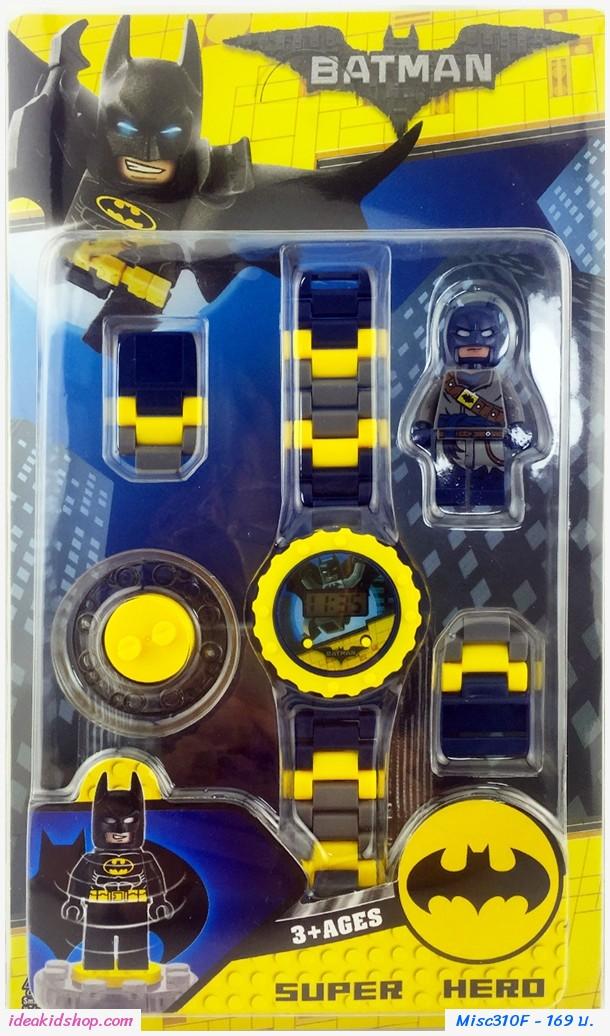 นาฬิกาเลโก้ตัวการ์ตูน ลาย BatMan