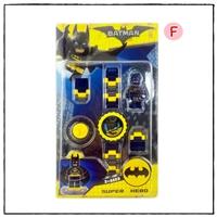 นาฬิกาเลโก้ตัวการ์ตูน-ลาย-BatMan