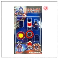นาฬิกาเลโก้ตัวการ์ตูน-ลาย-Captain-America