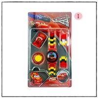 นาฬิกาเลโก้ตัวการ์ตูน-ลาย-Cars-McQueen