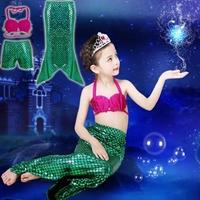 ชุดว่ายน้ำทูพีชนางเงือกน้อย-Mermaid(เซต-3ชิ้น)