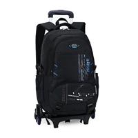 กระเป๋านักเรียนล้อลาก-Six-Wheeled-Sport-สีฟ้า