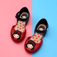 รองเท้ารัดส้นทูโทน-Snow-White-Melissa-สีแดง