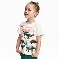 เสื้อยืดแฟชั่น-ไดโนเสาร์ตัวโปรด-สีขาว