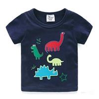 เสื้อยืดเด็กรวมไดโนเสาร์-สีกรม