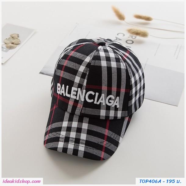หมวกแก๊ป Burberry สีดำ