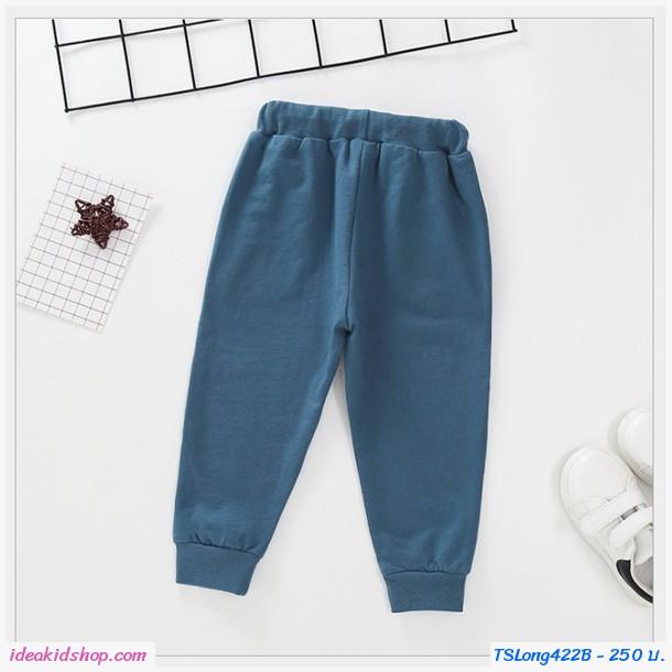 กางเกงวอร์มขายาวแฟชั่น Superman สีเทา