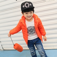 เสื้อคลุมแขนยาวมีฮู้ด-สไตล์ยูนิโคล่-สีส้ม