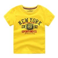 เสื้อยืดแฟชั่น-NEW-YORK-(เด็กโต7-12ปี)-สีเหลือง