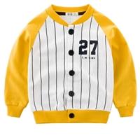 เสื้อคลุมแขนยาว-สไตล์นักเบสบอล-27-ลายทาง-สีเหลือง