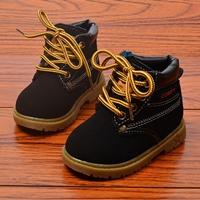 รองเท้าบูทสั้นแต่งเชือกทูโทน-Comfy-สีดำ