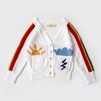 เสื้อคลุมคาร์ดิแกนลาย-The-Sun-and-Rainbow-สีขาว