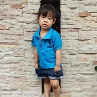 เสื้อ-Polo-โลโก้ม้า-สีฟ้า