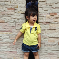 เสื้อ-Polo-โลโก้ม้า-สีเหลือง