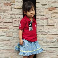 เสื้อ-Polo-สไตล์-Sport-Ad-สีแดง