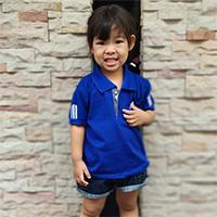 เสื้อ-Polo-สไตล์-Sport-Ad-สีน้ำเงิน