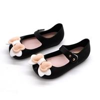 รองเท้ารัดส้นแต่งโบว์อมยิ้ม-Melissa-Bowy-สีดำ