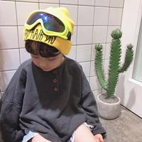 หมวกกันหนาว-Extream-นักบิน-สีเหลือง