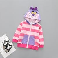 Jacket-เด็ก-Cheshire-Cats-มีฮู้ด-สีม่วงชมพู