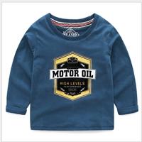 เสื้อแขนยาวหนุ่มน้อยโรม-MOTOR-OIL-สีกรม