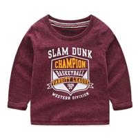 เสื้อแขนยาวหนุ่มน้อย-Slam-Dunk-Champion-สีเลือดหมู