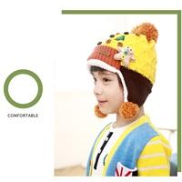 หมวกไหมพรม-เด็ก-Korea-สีเหลือง