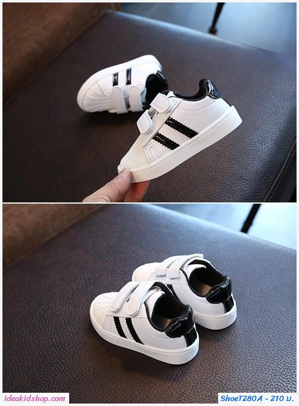 รองเท้าผ้าใบ Sport AD สีดำ