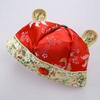 หมวกจีนเด็ก-Mickey-Mouse-สีแดง