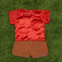 ชุดไทยเด็กชาย-เสื้อสีพื้น_กางเกงลายไทย-สีแดง