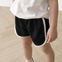 กางเกงขาสั้นแฟชั่น-Sport-สีดำ