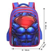 กระเป๋าเป้-Primay-School-3D-ลาย-Superman