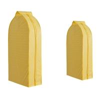 ถุงคลุมเสื้อ-Dust-Cover-สีเหลือง(แพค-2-ชิ้น)