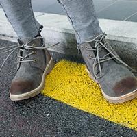 รองเท้าบูท-Children's-Martin-boots-สีเทา