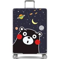 ผ้าคลุมกระเป๋าเดินทางลาย-Black-Bear-Star-H