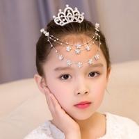 มงกุฎจิ่วและสร้อยหน้าผาก-Princess-Chain-diamond