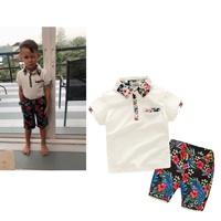 ชุดเสื้อ_กางเกง-ลายดอก-flower-เสื้อขาวกางเกงลาย
