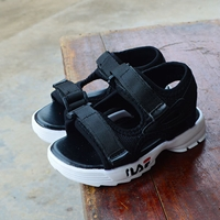 รองเท้ารัดส้น-สไตล์-Fila-Sandals-Roman-สีดำ