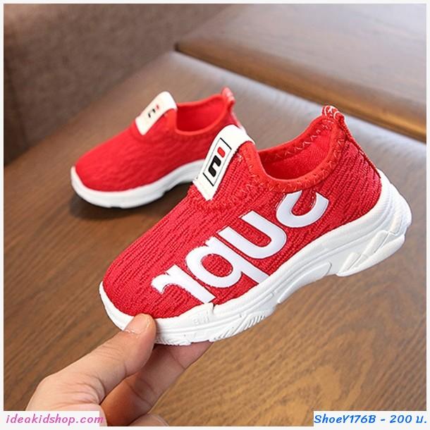 รองเท้า Korean fashion SUPR สีแดง