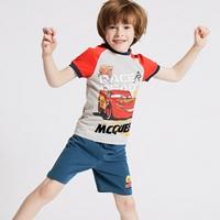 ชุดเสื้อกางเกง-Race-Ready-Mcqueen-95-สีเทาแดง