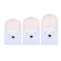 ถุงคลุมเสื้อ-Dust-Cover-ลายหมีขาว(แพค-3-ชิ้น)