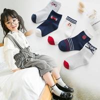 ถุงเท้าแฟชั่น-แต่งโบว์-v2(แพค-5-คู่)