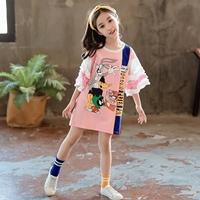 มินิเดรสเด็กแฟชั่น-Bunny-สีชมพู