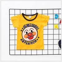 เสื้อยืดเด็ก-Anpanman-สีเหลือง