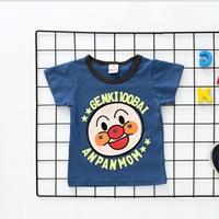 เสื้อยืดเด็ก-Anpanman-สีกรม