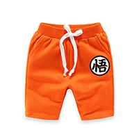 กางเกงขาสั้น-โงกุน-Dragonball-สีส้ม