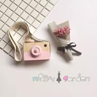กล้องของเล่นไม้-สีชมพู