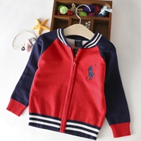 Jacket-เด็ก-Polo-แขนยาวสีแดง