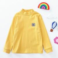 เสื้อแขนยาวคอเต่า-สีเหลือง